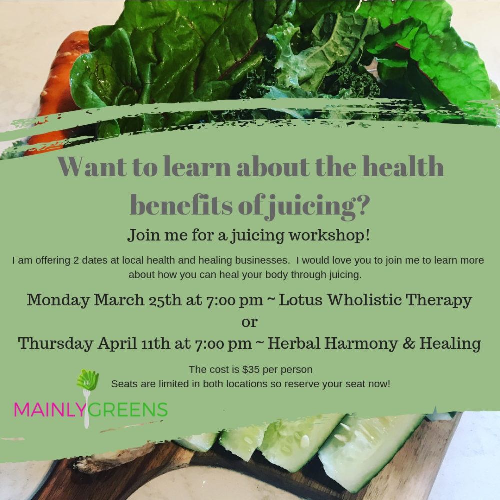 Juicing Workshops